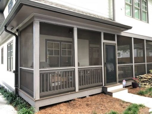 Porch Enclosed in Kirkwood